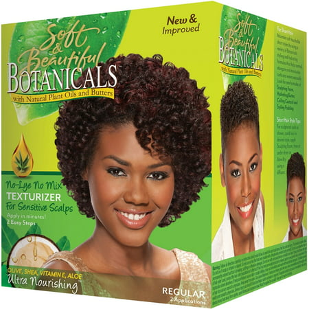3 Pack - Soft & Beautiful Botanicals Texturizer Regular 1 (Botanical Setting)