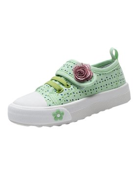 Lavaport Kid Girls Lace-up Sneakers Sports Shoes
