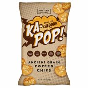 KA-POP: Cheddar Ancient Grain Popped Chips, 3.25 oz