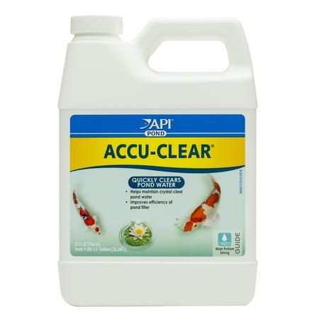 Image of API Pond Accu-Clear, Pond Water Clarifier, 32 oz
