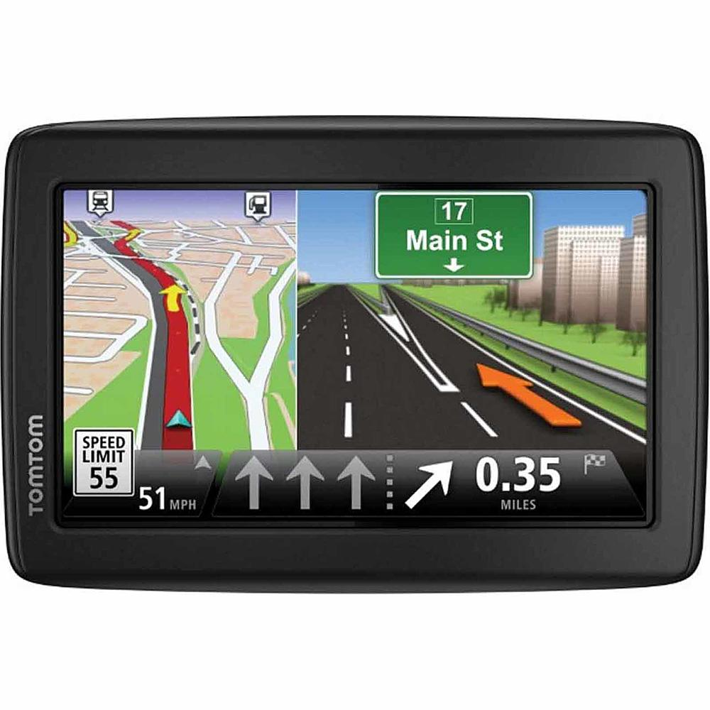 TomTom VIA1515M 5.0-Inch GPS System with IQ routes and Lifetime Maps, Black (New Open Box) by TomTom