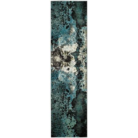 Safavieh Glacier Malanie Abstract Area Rug 2'3'x10' Runner Area Rug