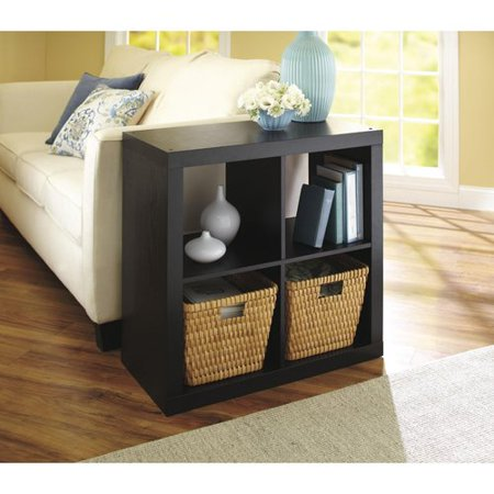 Collection Square Storage (Better Homes and Gardens Square 4 Cube Storage Organizer, Multiple Colors )