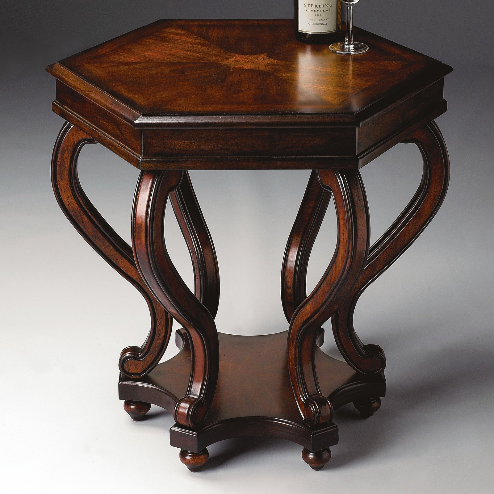 Butler Accent Table 27H in. - Plantation Cherry