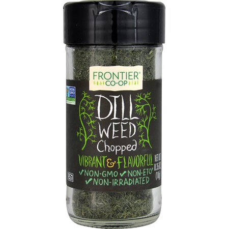 (2 Pack) Frontier Cut and Sifted Dill Weed, 0.35 Oz