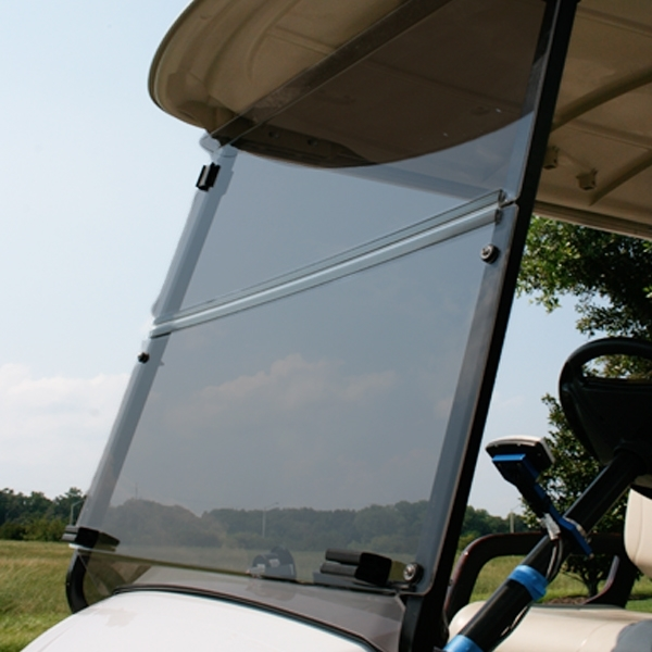 Club Car Precedent Golf Cart ALL AMERICAN™ Folding Flip Windshield-Tinted/Clear