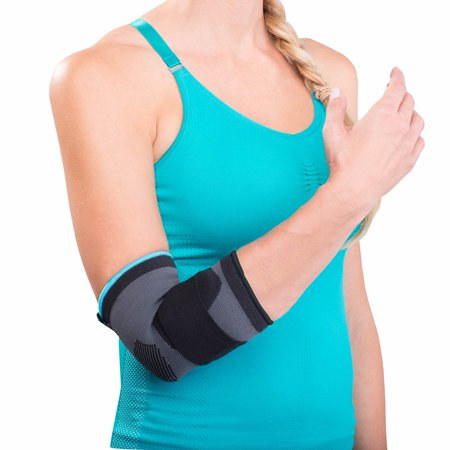 DonJoy Advantage Deluxe Elastic Elbow Sleeve – Tan – Small