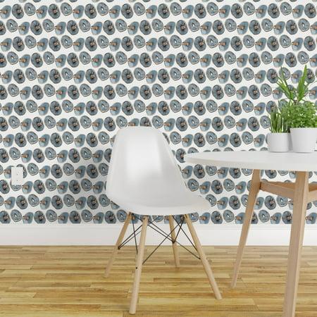 Wallpaper Roll Mushroom Kitchen Food Drawing Shedenhelm Tonal Fungi 24
