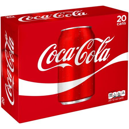 Coca-Cola Cans, 12 fl oz, 20 Pack