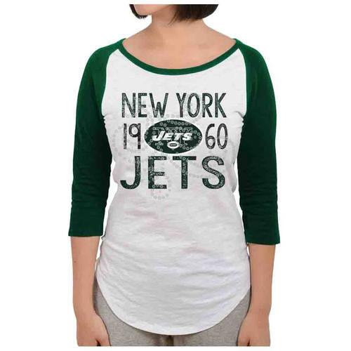 NFL New York Jets Juniors Long Sleeve Graphic Tee