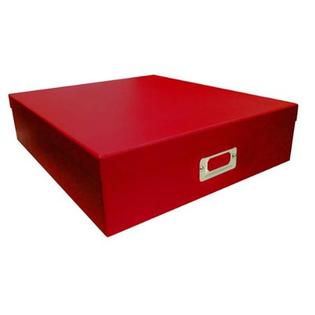 Pioneer Photo Albums  Red Scrapbooking Storage Box (Set of 6)