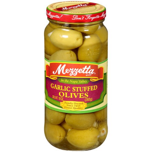 Mezzetta Garlic Stuffed Olives, 10 oz