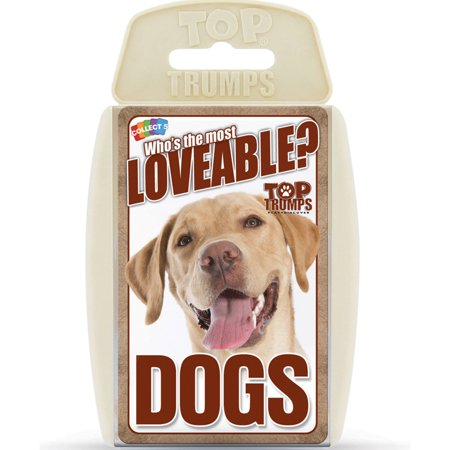 Top Trumps Lovable Dogs Card Game