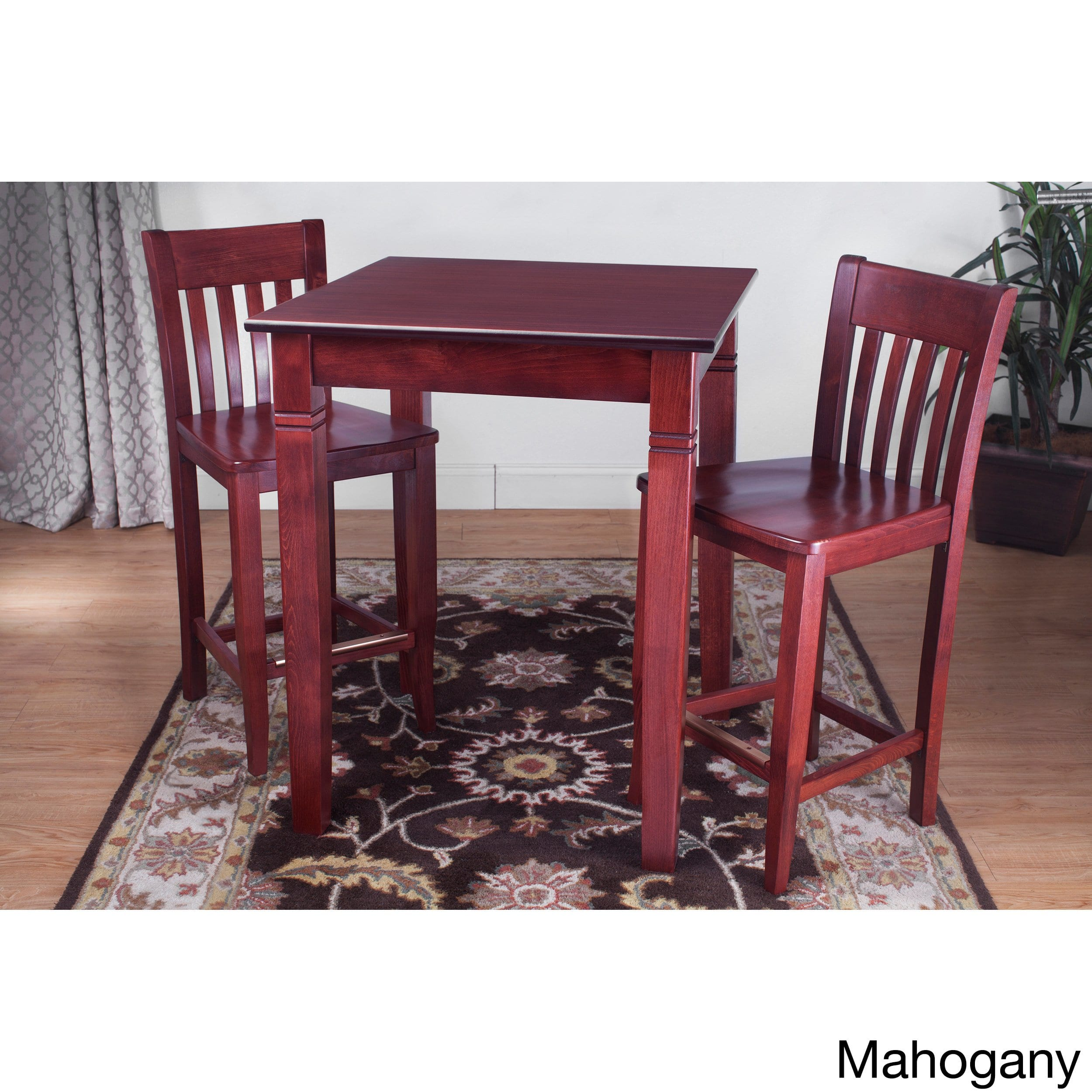 Beechwood Mountain Jacob 3-piece Pub Set by Overstock