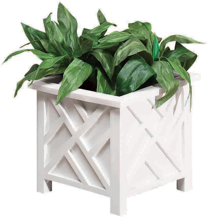 Miles Kimball   Chippendale Planter