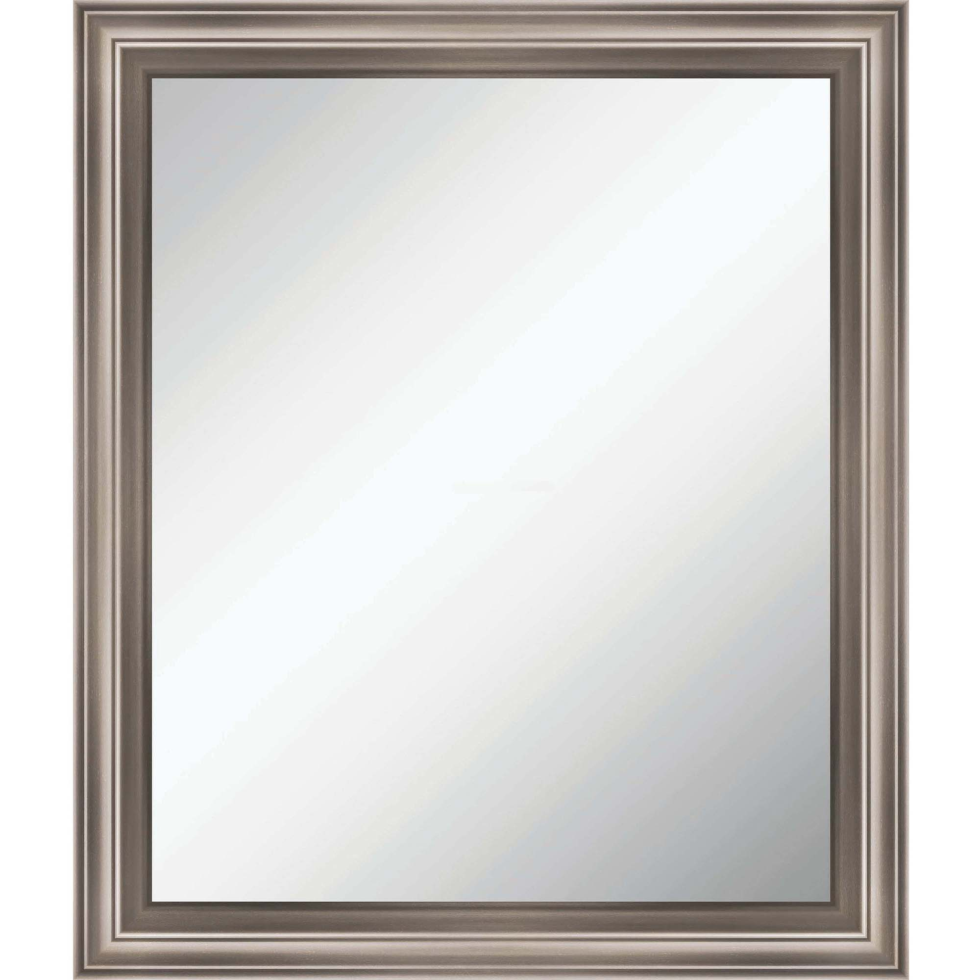 Bevelled Bathroom Mirror Better Homes And Gardens 20 X 20 Sawyer Beveled Mirror Walmartcom