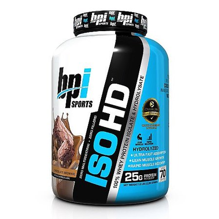 BPI Sports ISO HD protéines en poudre, chocolat Brownie, 5 Lb
