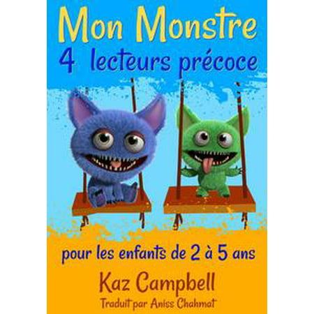 Mon Monstre 4 - lecteurs précoce - pour les enfants de 2 à 5 ans - eBook](Les Monstres De Halloween)
