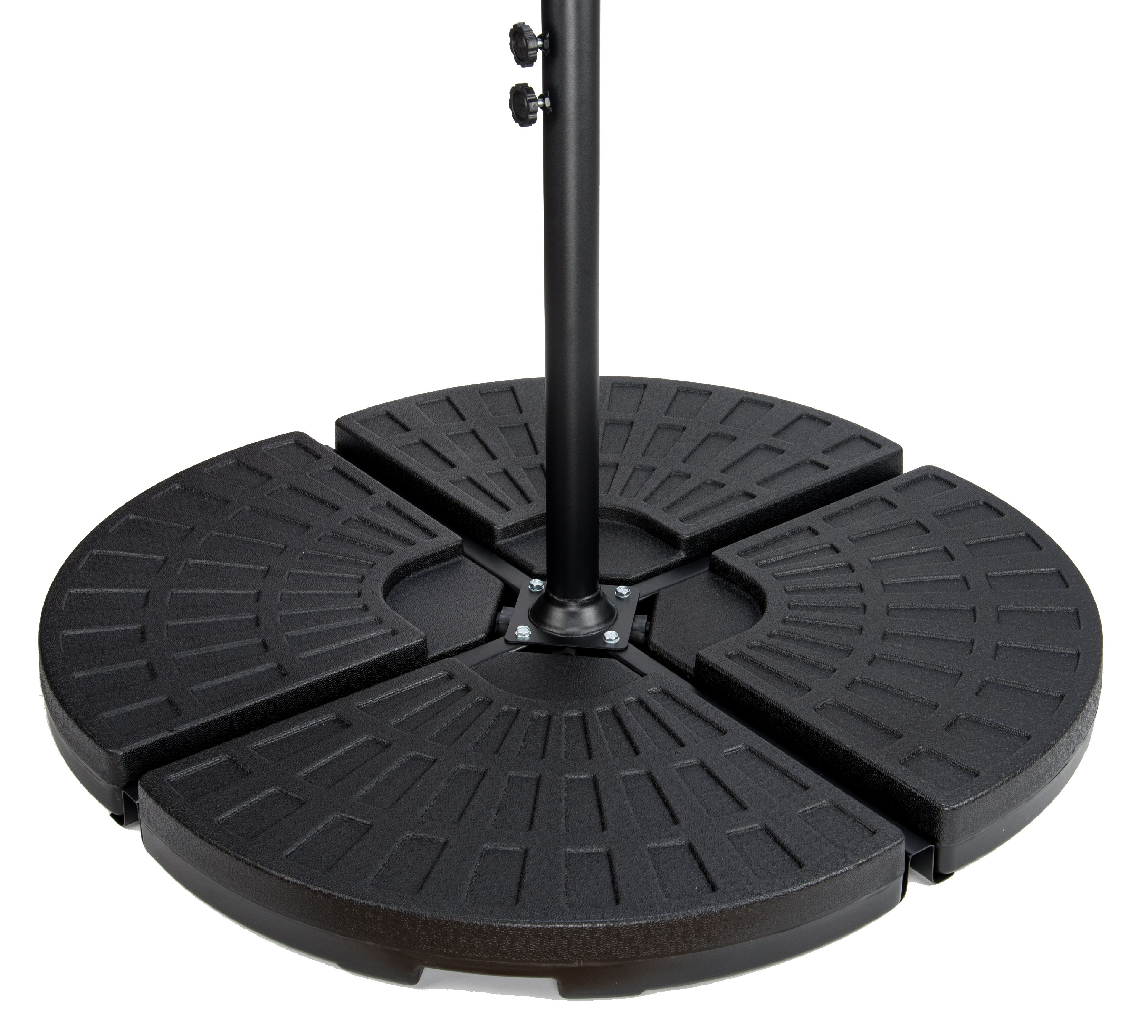 4-Piece Set Cantilever Umbrella Base Water Weights for Offset Umbrellas by Trademark Innovations
