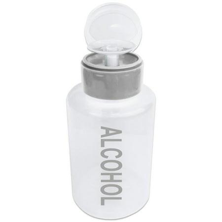 Beauticom High Quality 12oz Alcohol Pump Dispenser - Gray