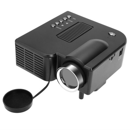 Portable  Entertainment Projector Av Vga Usb Led Mini Entertainment Projector For Home Office Cinema With Us Plug  Fsbr