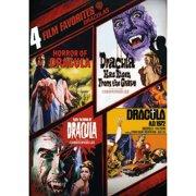 4 Film Favorites: Draculas: Horror Of Dracula   Dracula Has Risen   Taste The Blood Of Dracula   Dracula A.D. 1972... by WARNER HOME ENTERTAINMENT