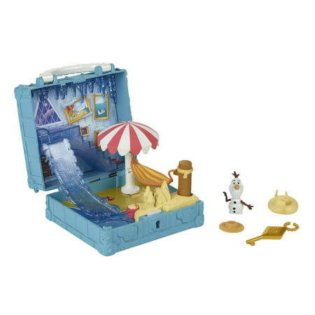 Frozen 2 Portable Pop-up Bedroom Playset with Olaf, Walmart Exclusive