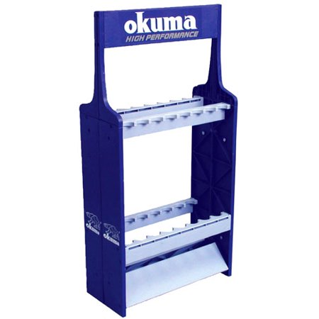 Okuma Expandable ABS Wall Mount Fishing Rod Rack
