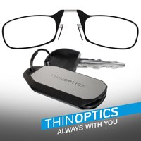 80f244f63873 Product Image ThinOPTICS Always With You Reading Glasses with Keychain Fob
