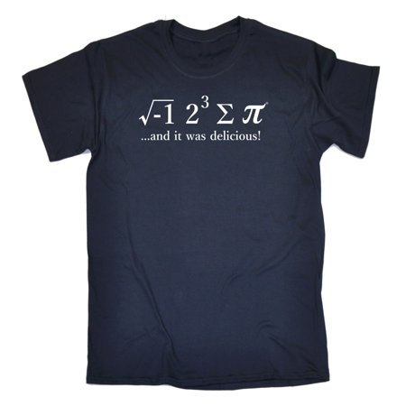 123t Men's Ate Pie Math Equation Geek Nerd Funny Joke T-SHIRT - 8 Some Pi tee