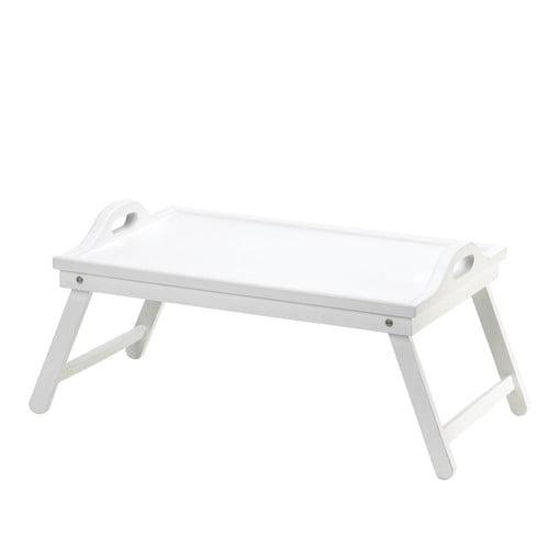 Accent Plus White Folding Tray