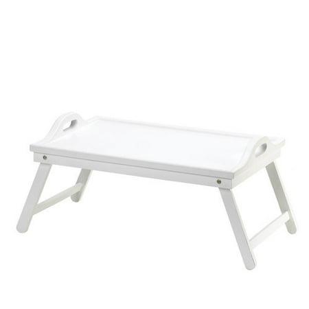 Accent Plus White Folding Tray ()