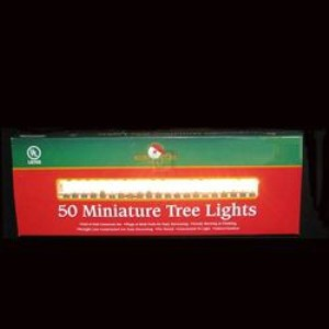50/L END-END GREEN/CLEAR LIGHT SET