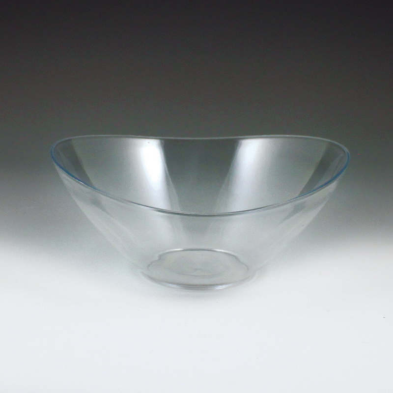 "(Price case)Maryland Plastics MPI1214 6"" Crystalware Salad Bowl, Clear by Crystalware"