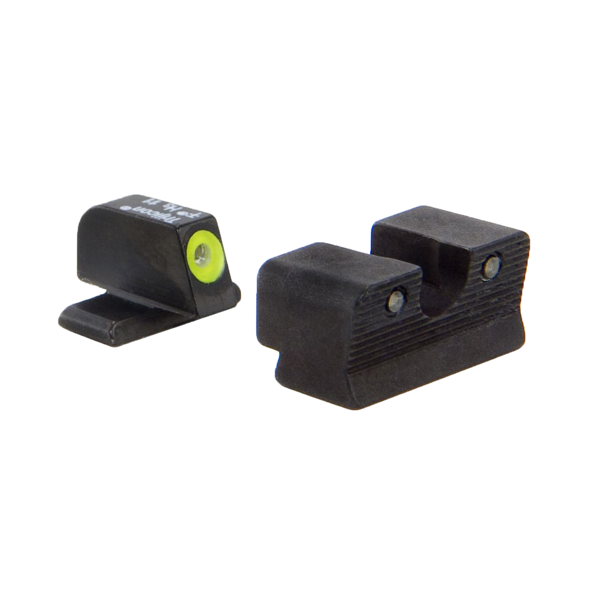 Click here to buy Trijicon Walther HD Night Sight Set PPS PPX PPS M2, Yellow Rear Lamp by Trijicon.