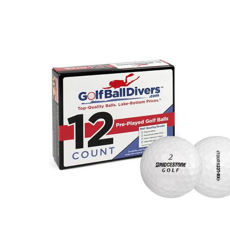 B330 Mint - Bridgestone Golf Tour B330-RX Golf Balls, Used, Mint Quality, 12 Pack