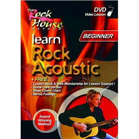 Acoustic Shop - Learn Rock Acoustic: Level 1 Beginner (DVD)