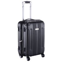 Costway GLOBALWAY Expandable 20 ABS Luggage Carry on Travel Bag Trolley Suitcase
