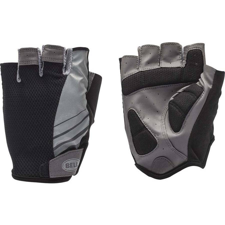 Bell Sports SHIFTER 700 Half-Finger Cycling Gloves, Black/Charcoal