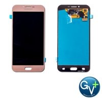 """Touch Screen Digitizer and AMOLED Front Display Assembly for Pink Samsung Galaxy A8 (2016) SM-A810 (5.7"""") - OEM"""