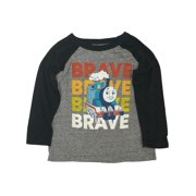 Thomas The Tank Engine Toddler Boys Long Sleeve Brave Train T-Shirt Shirt