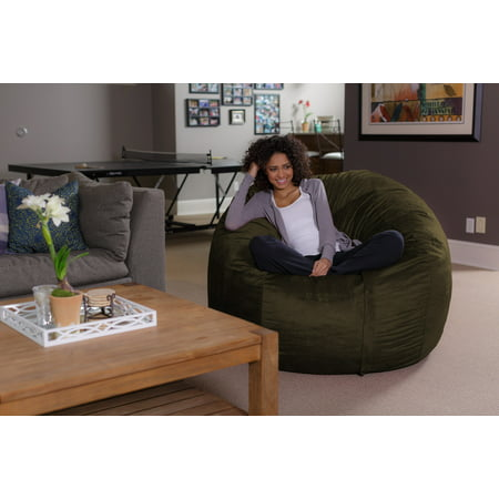Tremendous Sofa Sack 5 Ft Bean Bag Chair Multiple Colors Gmtry Best Dining Table And Chair Ideas Images Gmtryco