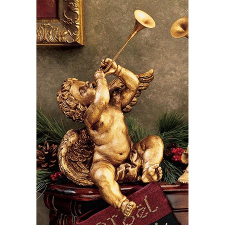 Design Toscano Trumpeting Angels of St. Peters Square (Boy Angel)