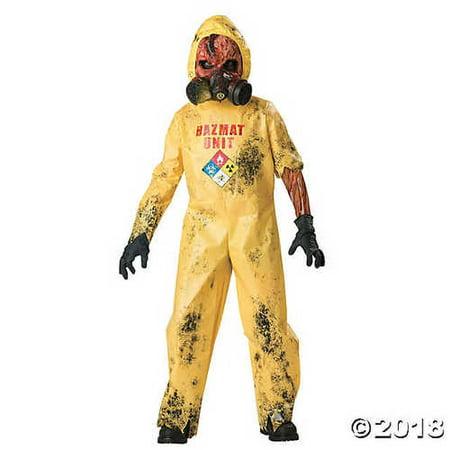SALES4YA Kids-Costume Hazmat Hazard Child Sz 6 Halloween Costume - Child Small - Hazmat Costumes