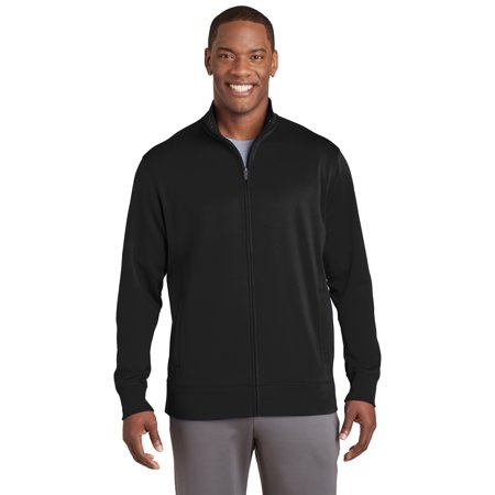 Sport-Tek® Sport-Wick® Fleece Full-Zip Jacket.  St241 Black 3Xl - image 1 de 1
