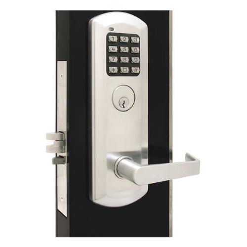 TOWNSTEEL XME-2030-Q-626 Classroom Lock, Stin Chrome, Quest Lever