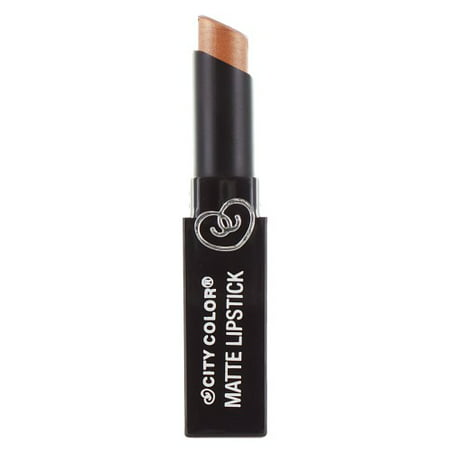 Pearl Matt - CITY COLOR Matte Lipstick L0050D - Pearl Bronze