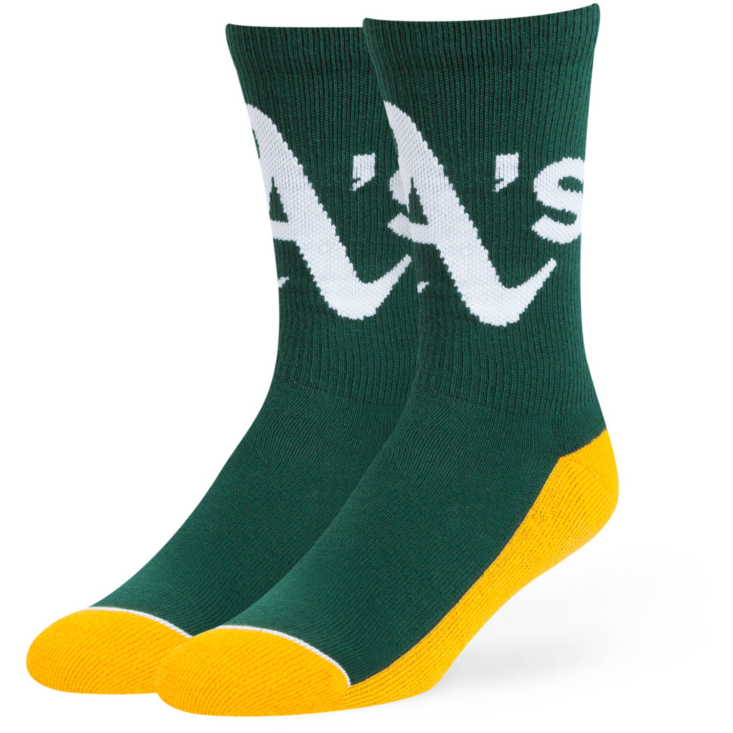 MLB Oakland Athletics Arena Crew Socks - Fan Favorite