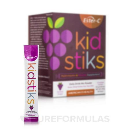 American Health Ester-C - Kid Stiks - Groovy Grape - 30 Packets
