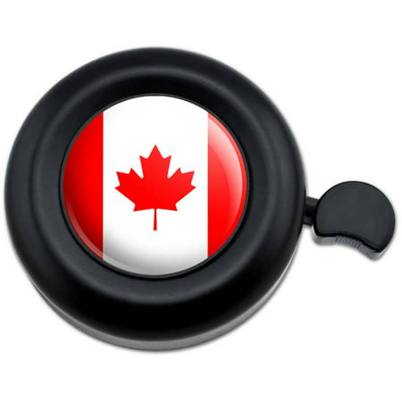 Canada National Country Flag Bicycle Handlebar Bike Bell (Bell Mobility Canada)